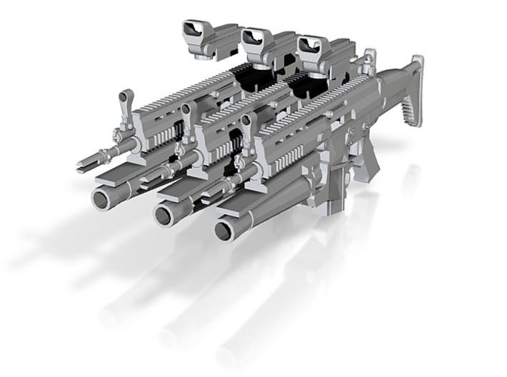 SCAR attachX3 3d printed