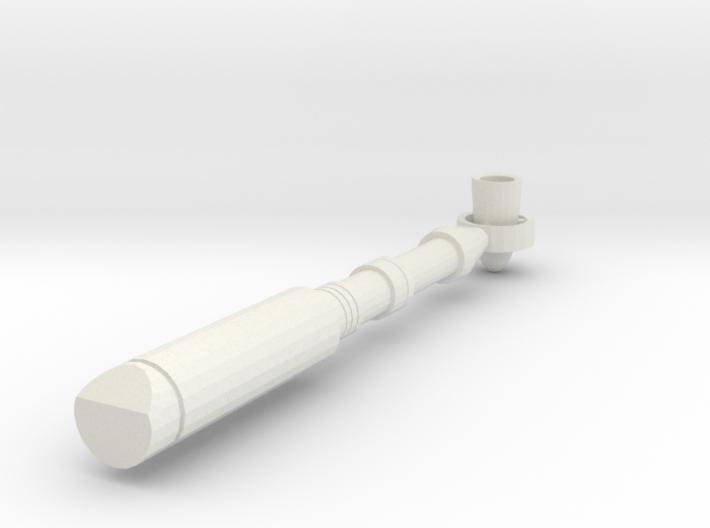 BJD, MSD Handheld Sci-Fi Torch Prop v.01 3d printed