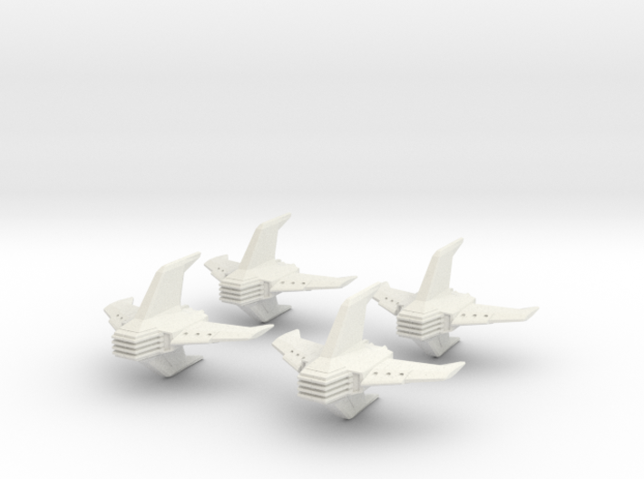Shadow Rift Mechanized Empire Fighter Wing 3d printed