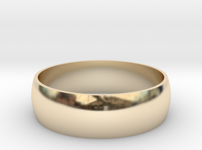 223-Designs Bullet Button Ring Size 14 3d printed