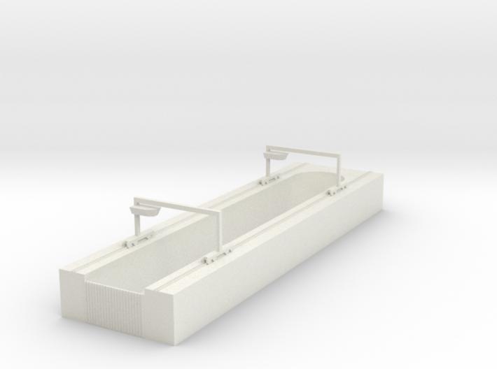 1/700 Dry Dock 3d printed