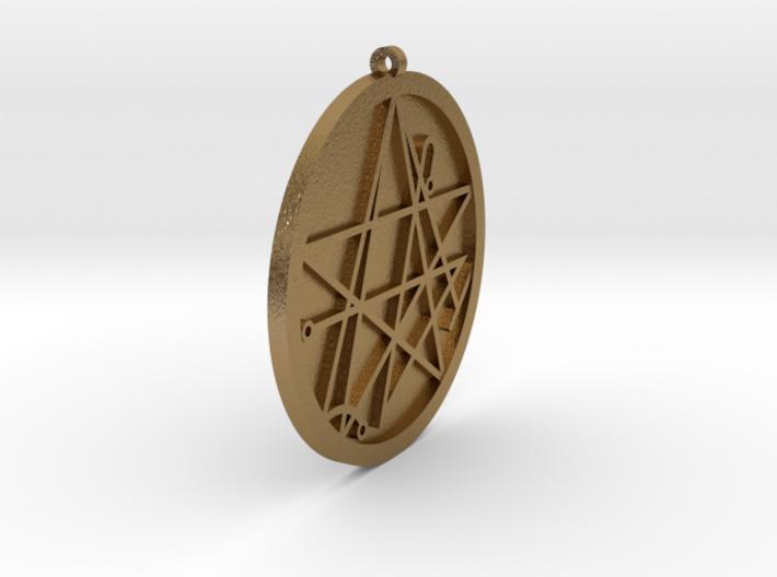 YogSogoth Pendant 3d printed