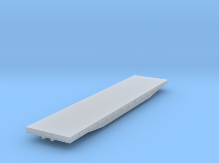 Flatcar - 45 Foot - Z scale 3d printed