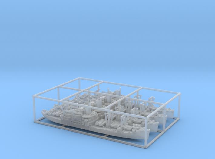 1/2400 US APA Bayfield (x4) 3d printed