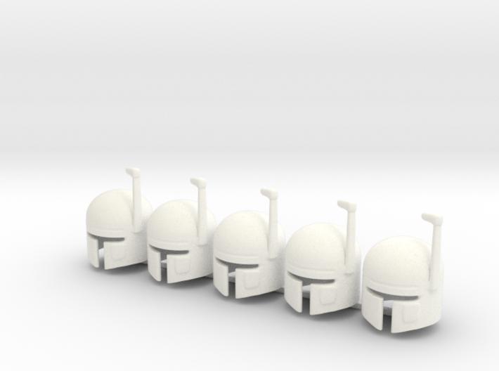 5 x SciFi G 3d printed