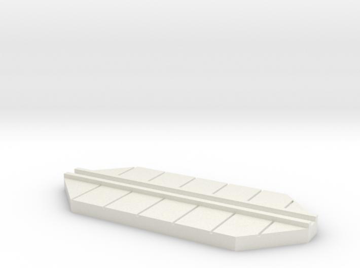 walkway base cutaway 3d printed