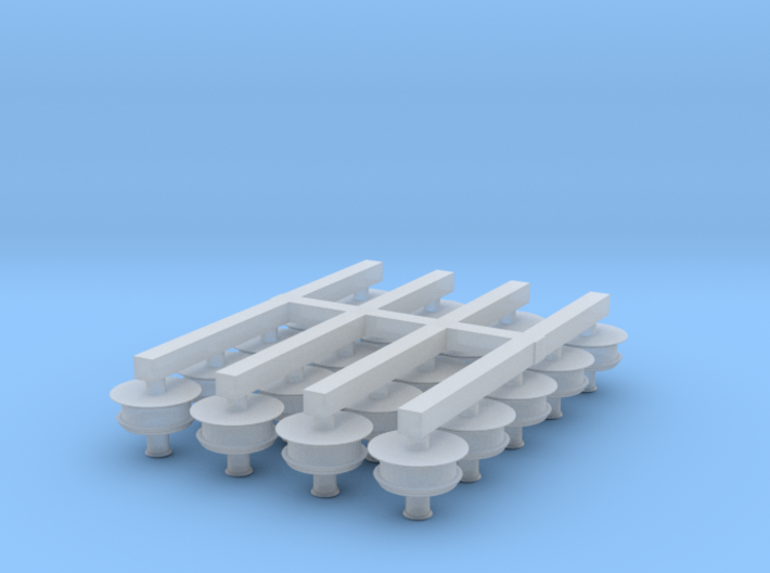 N Scale Pope's Lamps (Pack of 20) 3d printed