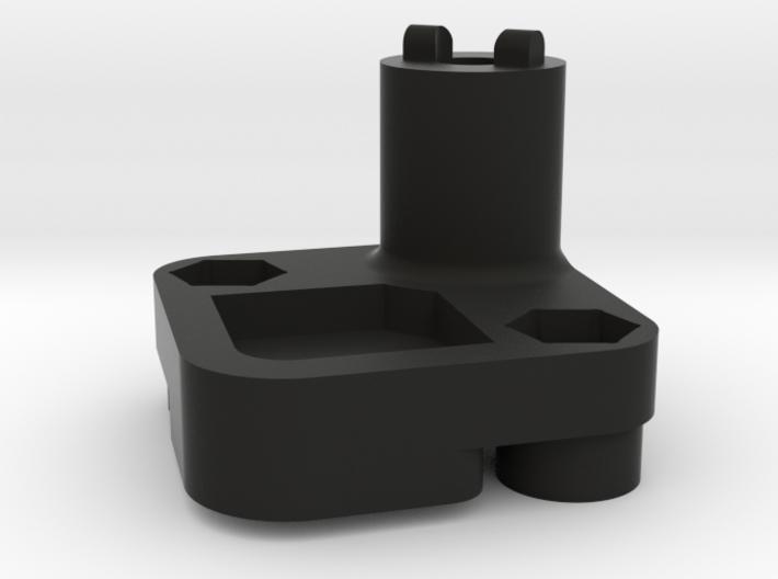 Spare tire mount for Pajero hardbody. 3d printed
