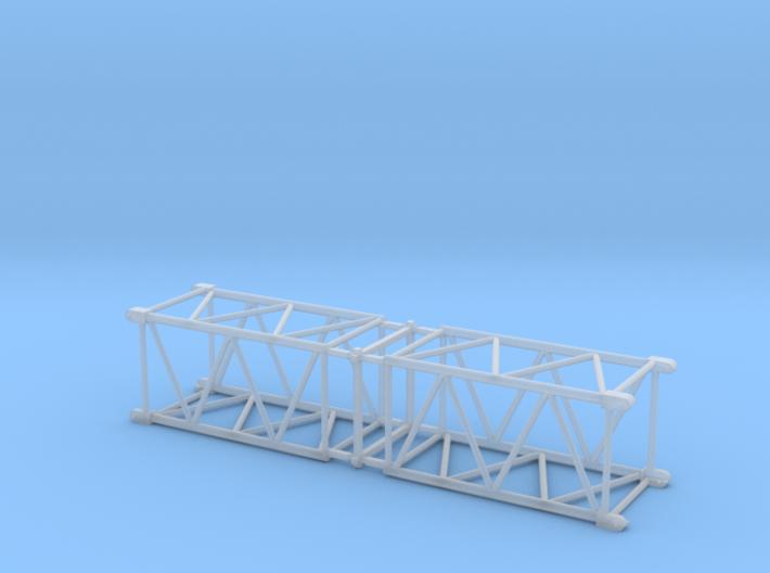 HO/1:87 Crane boom segment short 17x17 x2 3d printed