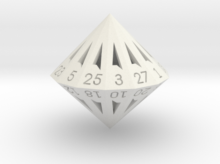 28 Sided Die - Large 3d printed