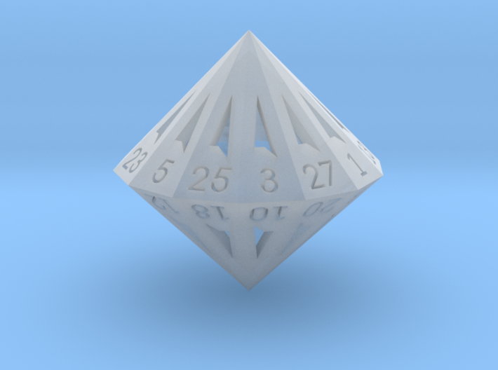 28 Sided Die - Small 3d printed