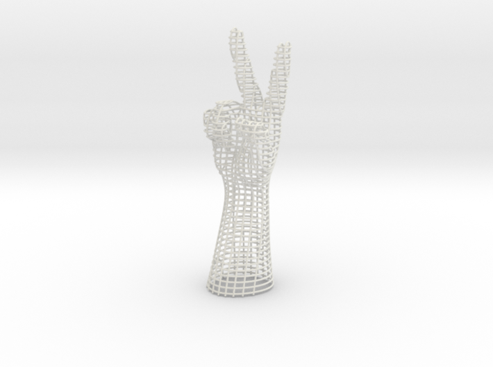 PEACE HAND 3d printed