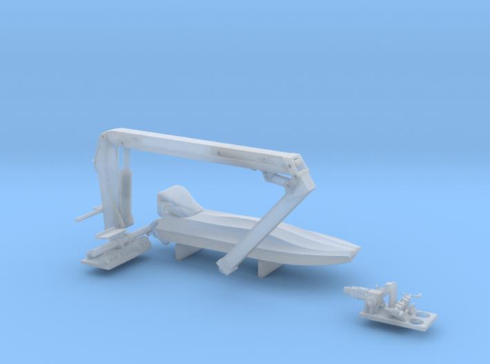 05.801.002-Beiboot-Kran 3d printed