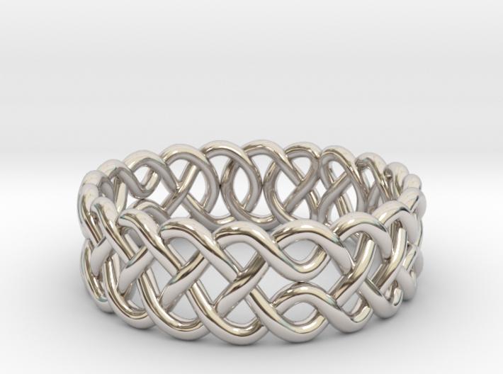 Celtic Ring - 16mm ⌀ 3d printed