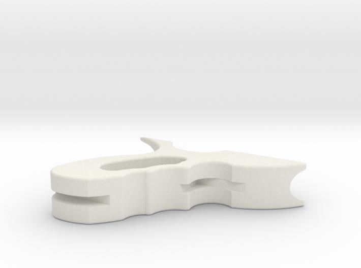 Jango Blaster Handle 3d printed