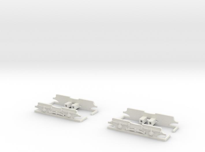 Drehgestellblenden für SRS TW 34 3d printed