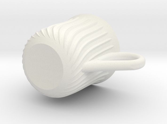 A stylistic cup 3d printed