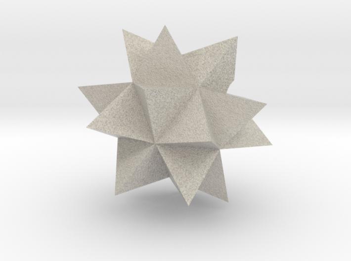 Wolfram Mathematica Spikey 3d printed