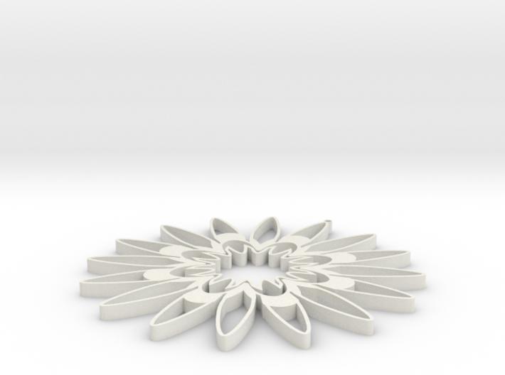 Sunflower 2 3d printed