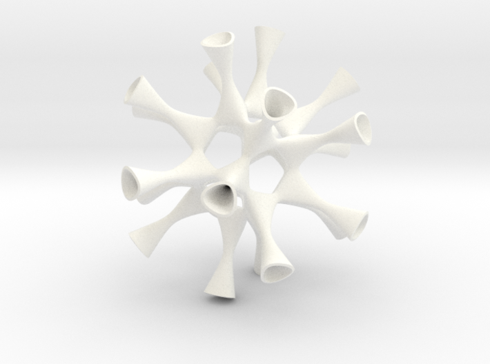 A Smoothed Barth Sextic 3d printed