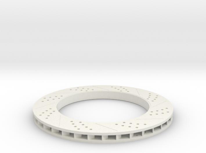 brake disk part 3 (repaired) 3d printed