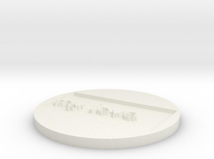 by kelecrea, engraved: my love 3d printed