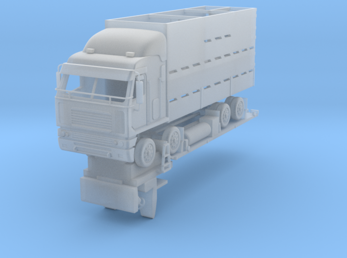 Stock Truck 1:120 revised 3d printed