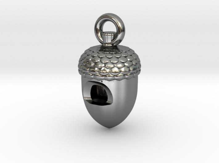 Acorn Whistle 3d printed