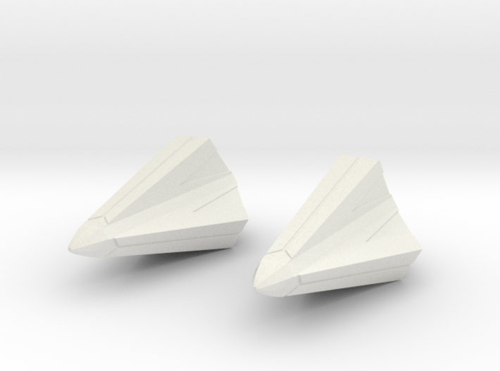 crystal ship 650 final 01 pair c 3d printed