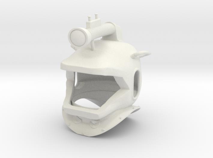 nautilus helmet 3d printed