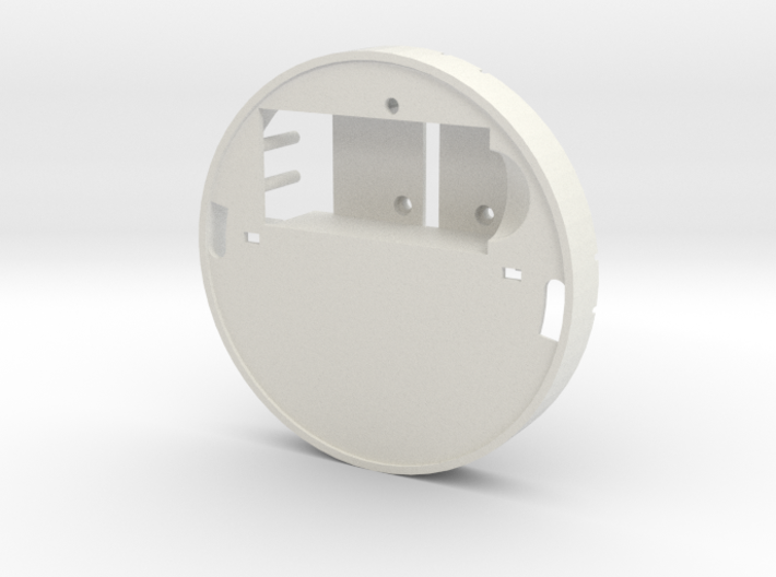 Yingyang smoke detector (midsection) 3d printed