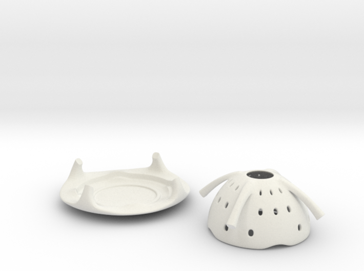 Saucer TeaLight  3d printed