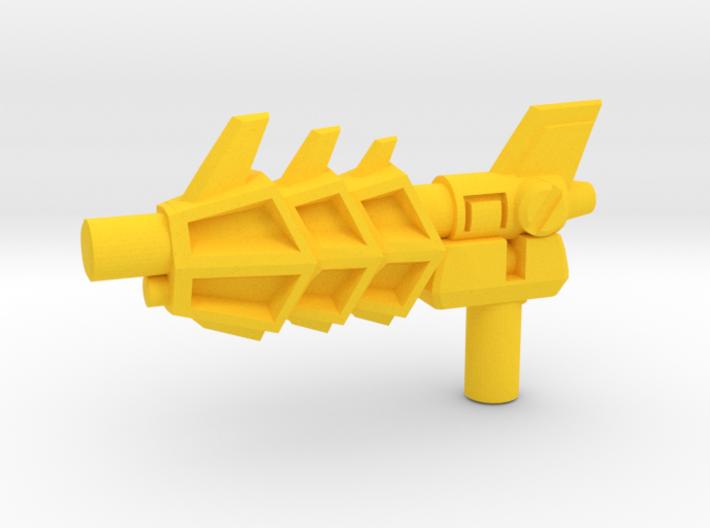 Transformers Twinstrike's 3mm Blaster 3d printed