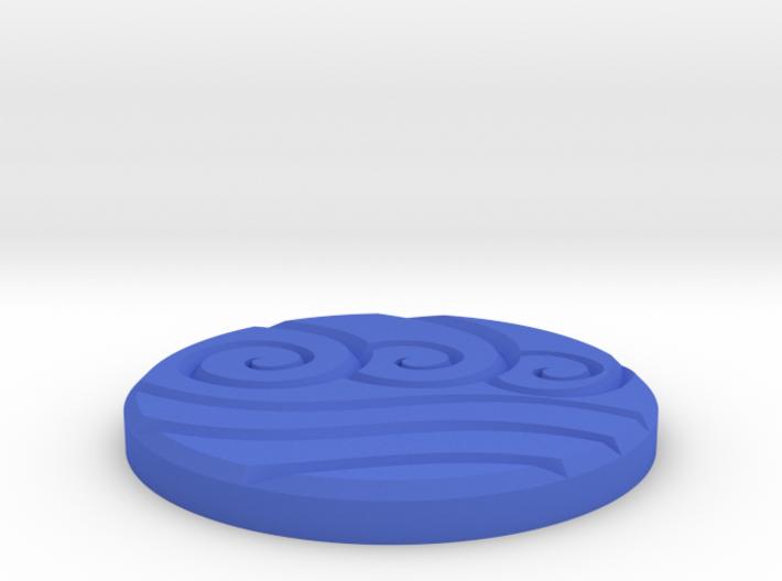 Water Clan Emblem 3d printed