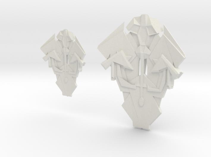 Cardassian TEROK CLASS INTERCEPTION Cruiser & Dest 3d printed