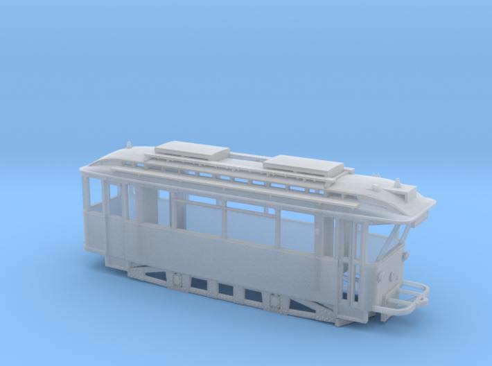 Tram Leipzig ATW 5023 SpurTT (1:120) 3d printed