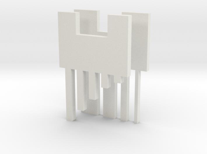 bar finger 3d printed
