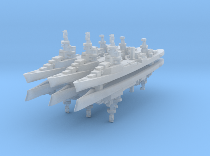 Bywater's Galveston 1:4800 x6 3d printed