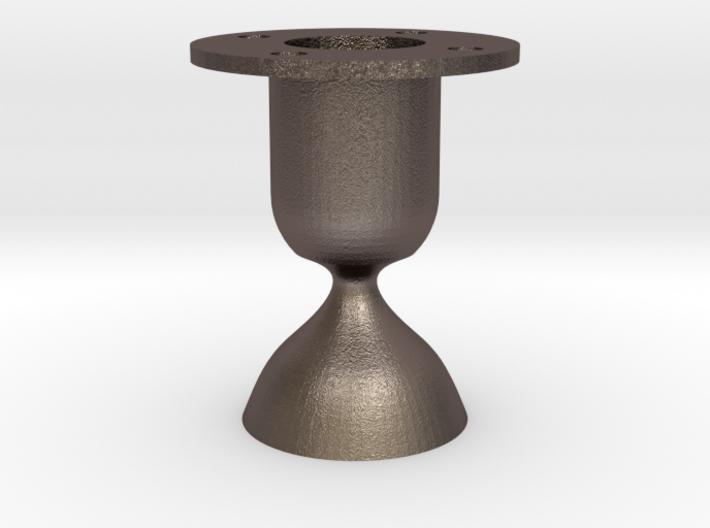 Laval. Rocket engine testing. 3d printed