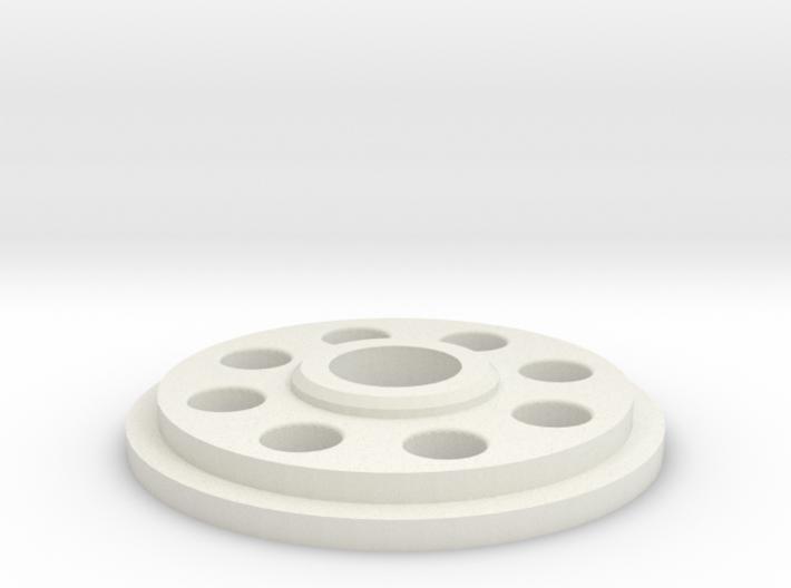 Pommel Insert - Charge Port Center Hole 3d printed