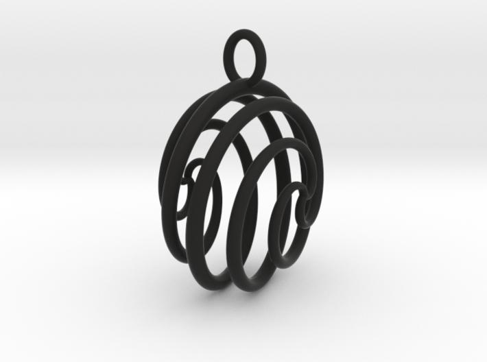 Ball Ornament 3d printed