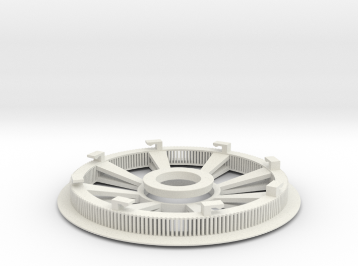 Belt disk right side 180ZHTD3M12mm 32 spokes 3d printed