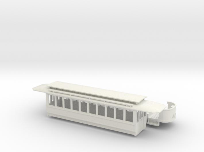 Wien Typ T umgebaut als Zweiachser 3d printed