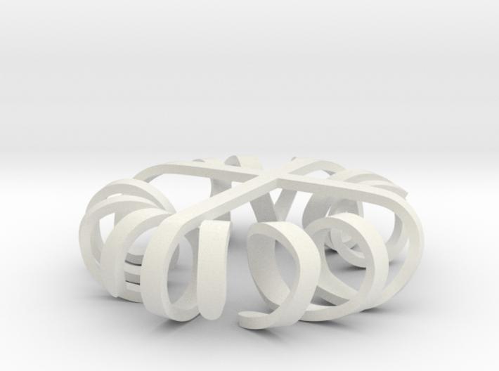 Sprawling Cross 3d printed