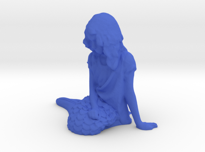 The Even Littler Mermaid 3d printed