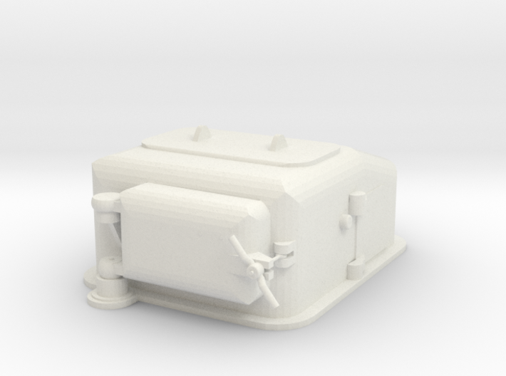 1/72 scale Type II Ammunition Lift 3d printed
