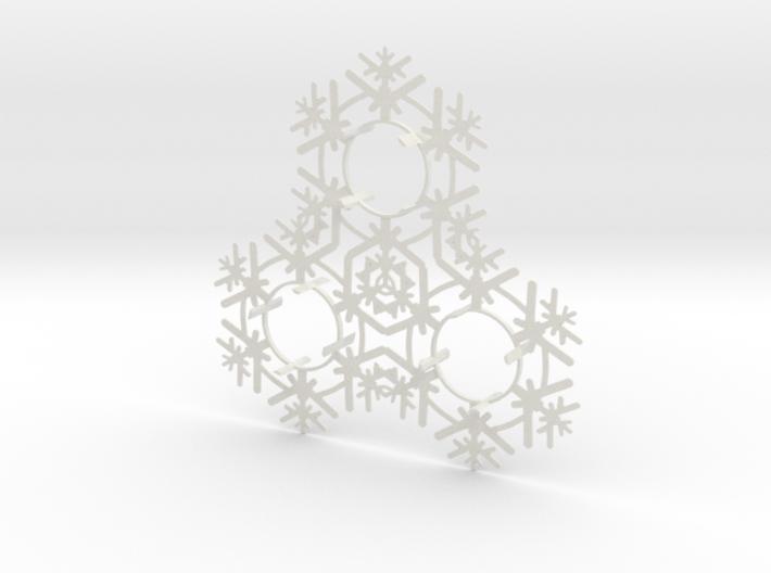 Triplet Snow Flake 2 3d printed