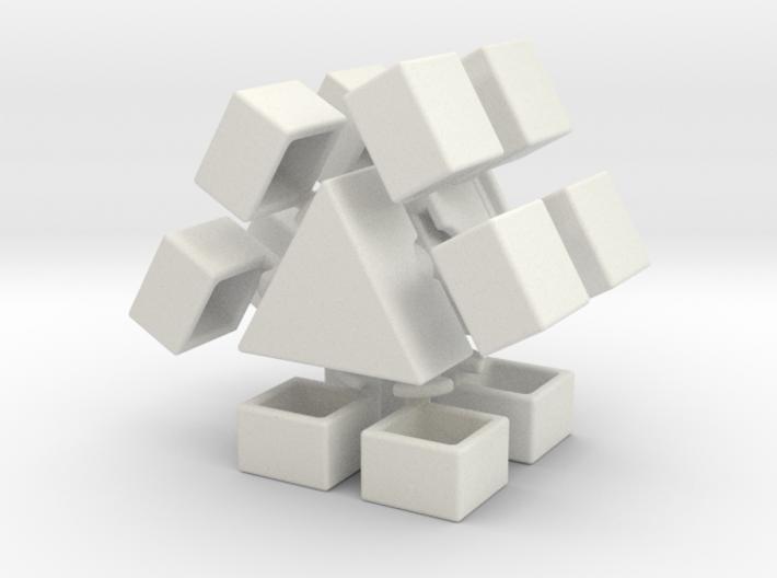 Junior Delta Prism 3d printed
