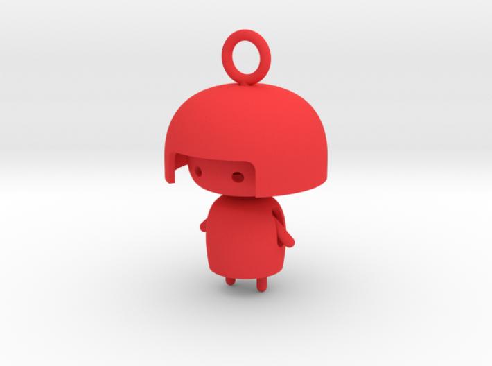 Doll Pendant 3d printed