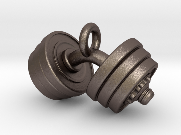 Weights Pendant 3d printed